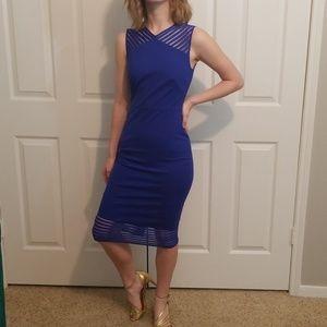 Womens Ted Baker Lucette  dress Blue sz 0